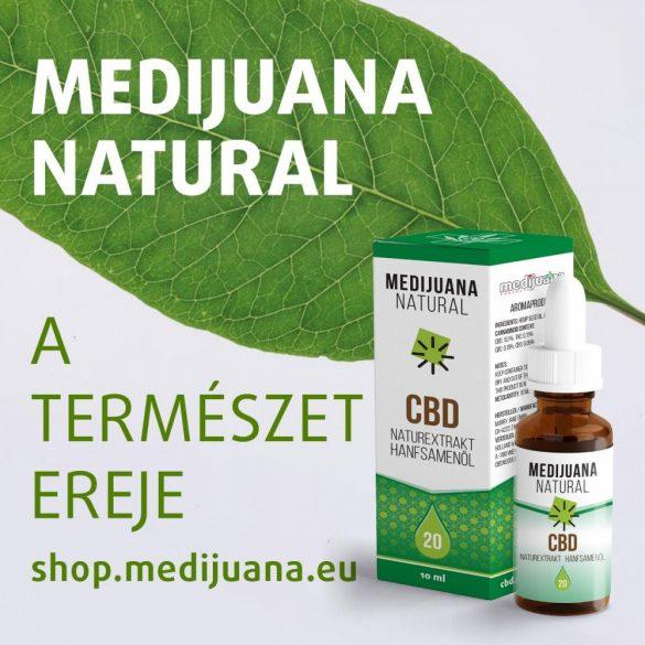 Premium E-Liquid (30 mg) aktive CBD-vel / Menthol