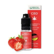 Premium CBD E-Liquid (30 mg) / Strawberry Diesel
