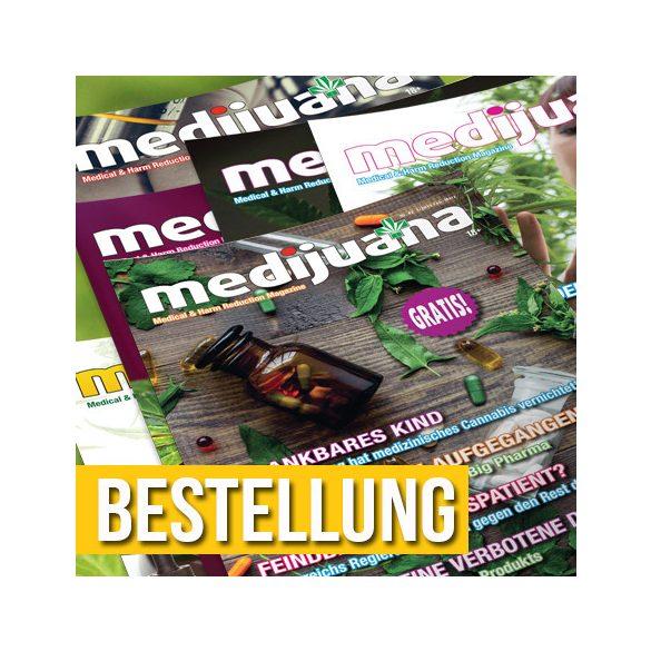 CK & MEDIJUANA magazin 2021 éves előfizetés (magyar kiadás)