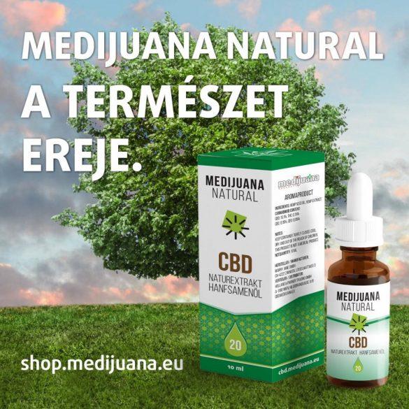 MEDIJUANA NATURAL <> CBD kenderolaj <> 20% CBD tartalom (10 ml)