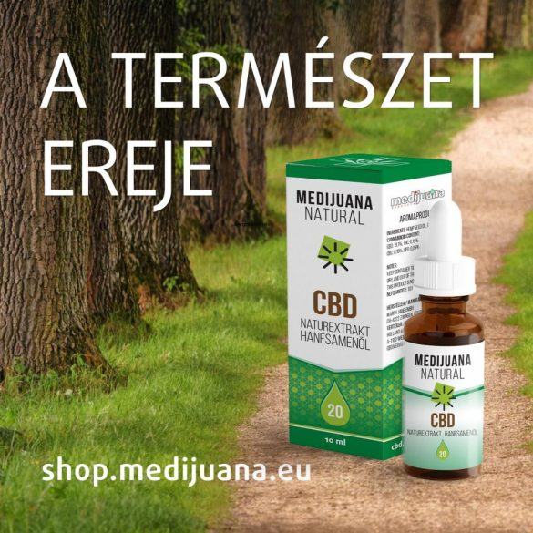 MEDIJUANA STRONG <> CBD Hanföl <> 25% CBD (10 ml)