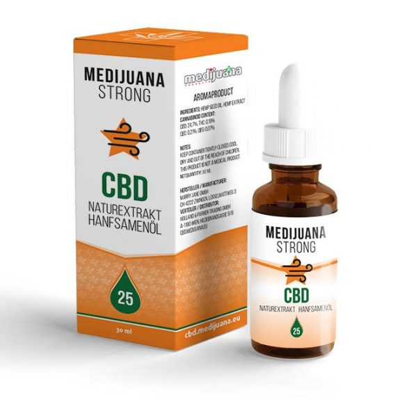 MEDIJUANA STRONG <> CBD Hanföl <> 25% CBD (30 ml)