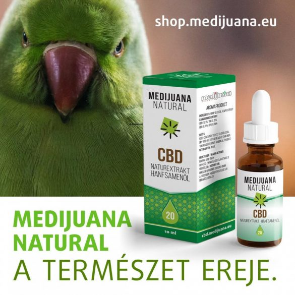 MEDIJUANA DELICTUS <> CBD Hanföl für Haustiere <> mit 500 mg CBD